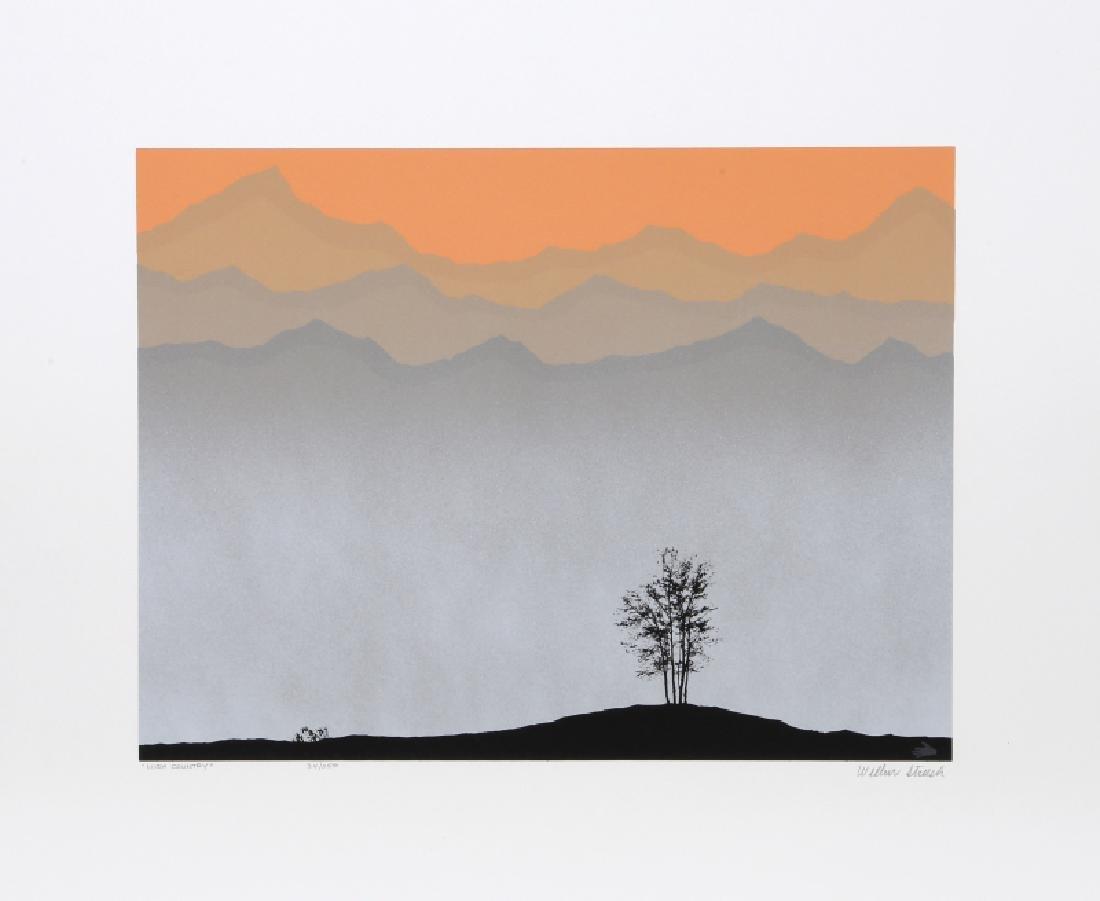 Wilbur Streech, High Country, Silkscreen