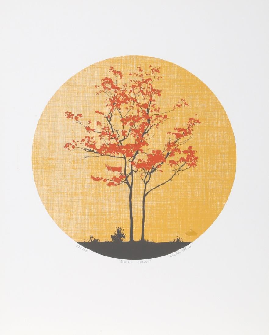Wilbur Streech, Spring Design, Silkscreen
