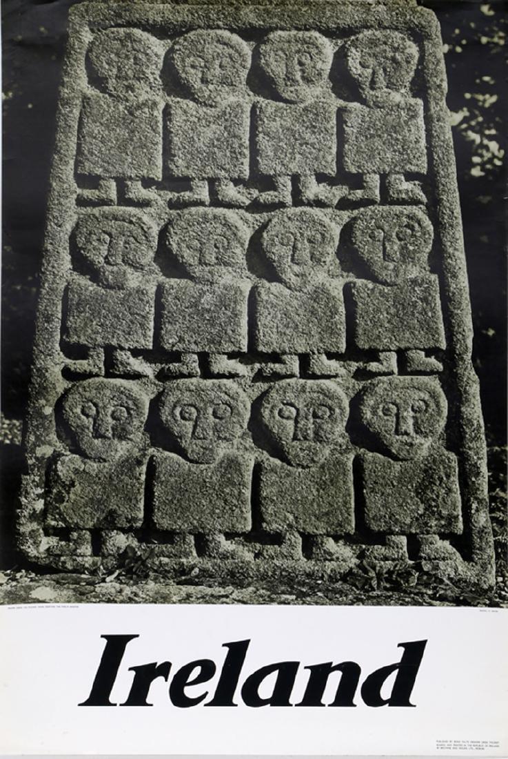 Travel Poster, Ireland - Moone Cross Kildare - Twelve