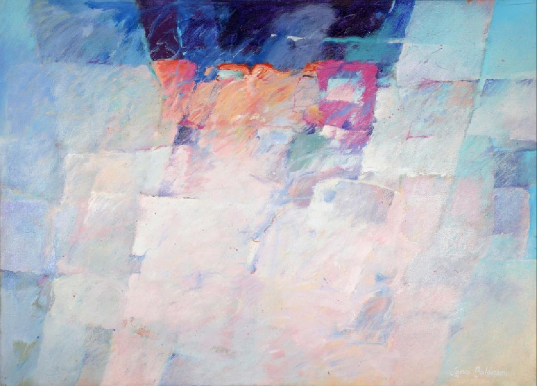 Lance Balderson, Abstract Composition, Oil Painting