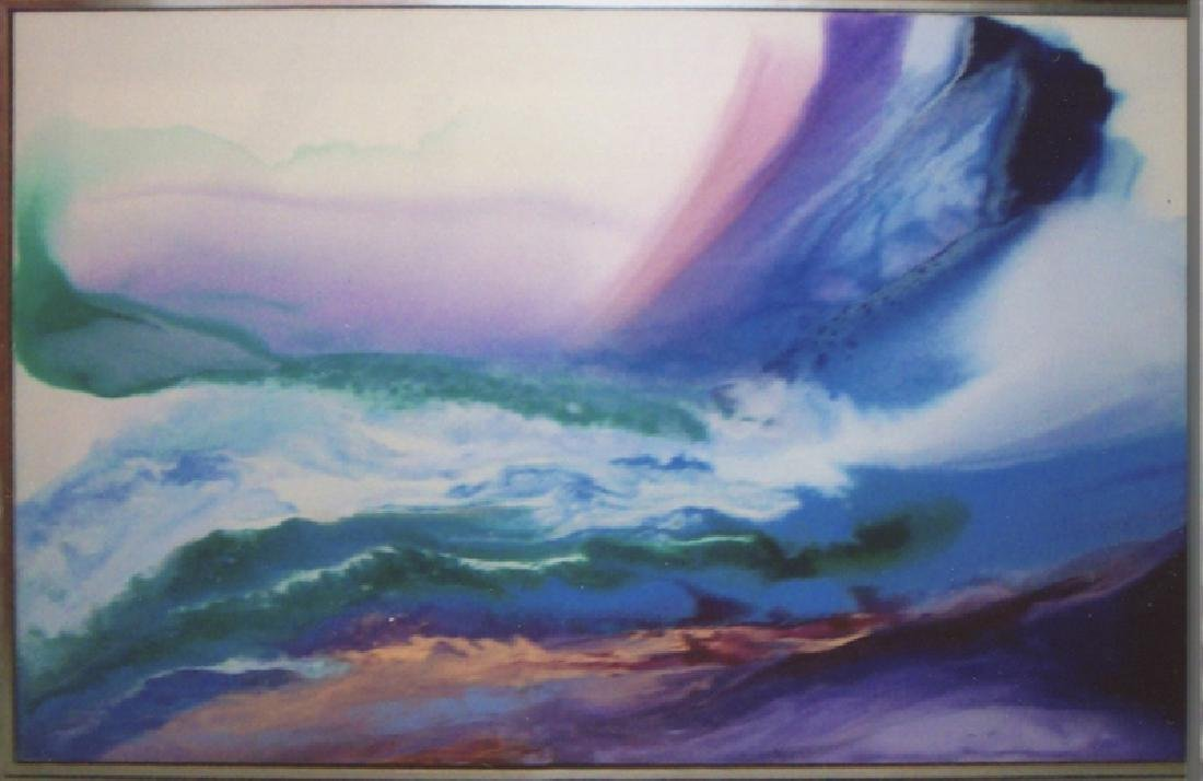 Ted Lownik, Wind and Water, Acrylic Painting