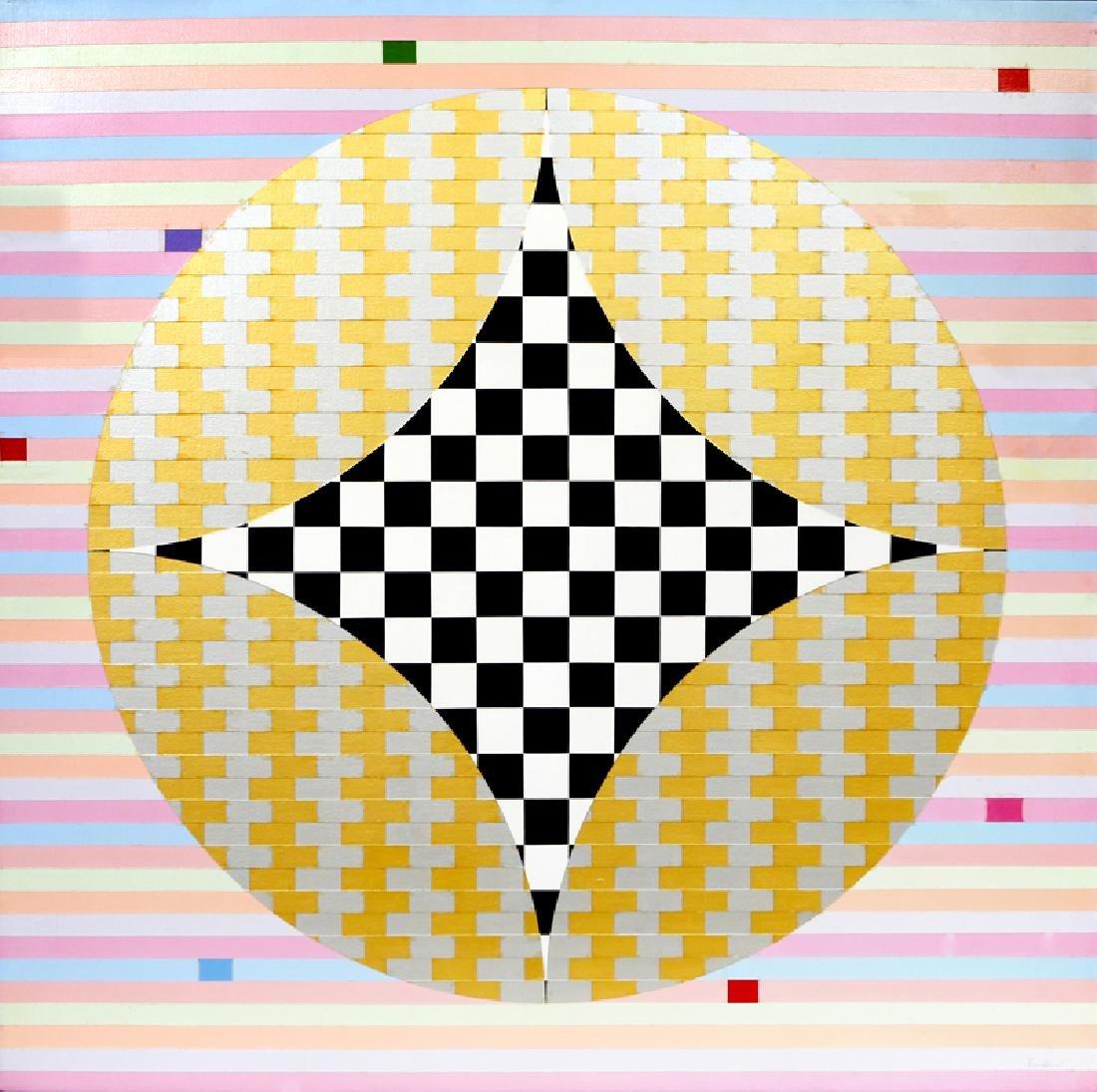 Max Epstein, Mosport Park, Acrylic Painting