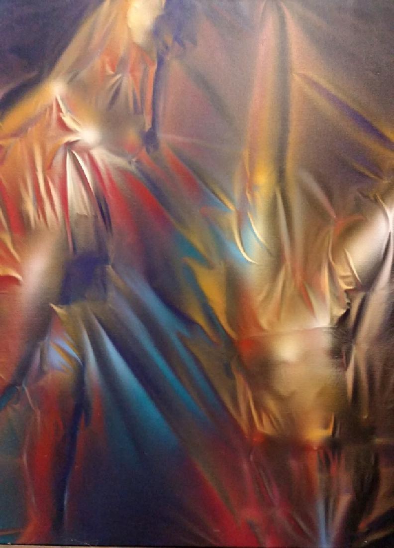 Peter H. Mackie, Soixante, Oil Painting
