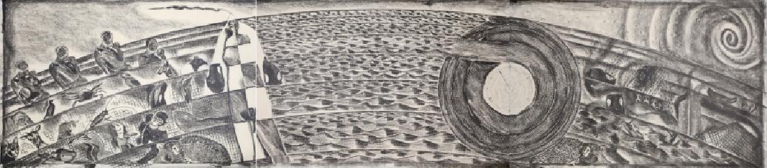 Francesco Clemente, Departure of the Argonaut