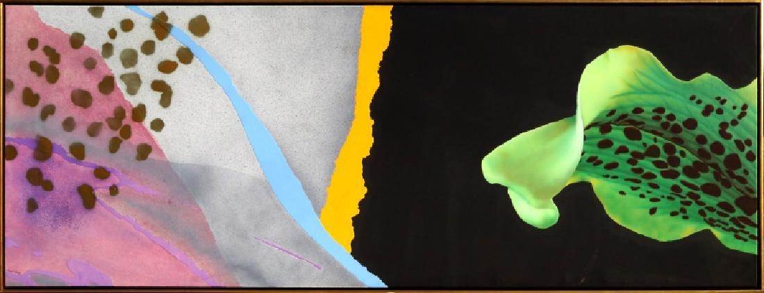 Michael Knigin, Outside Choice, Acrylic and Enamel
