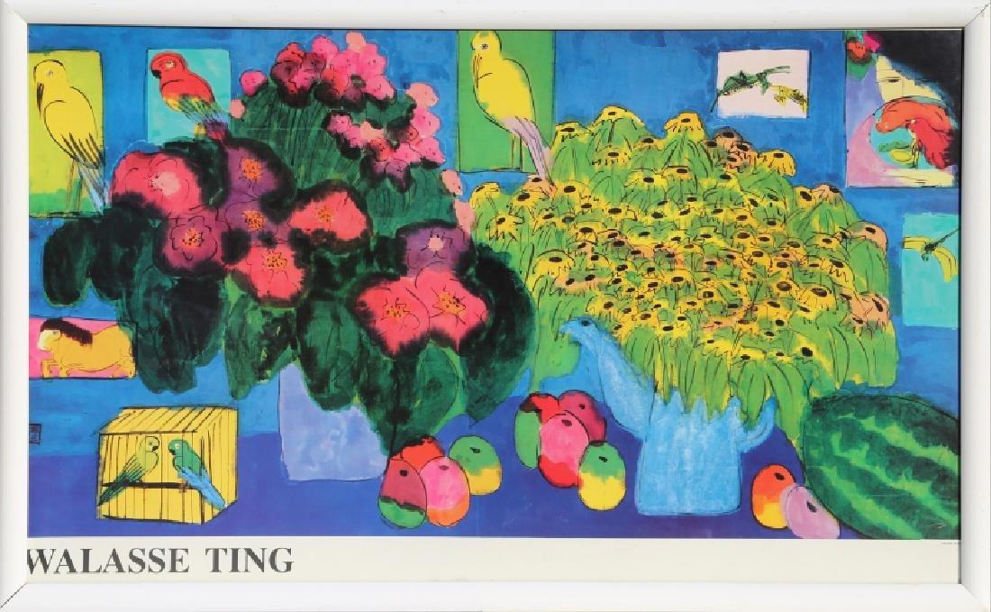 Walasse Ting, Poster
