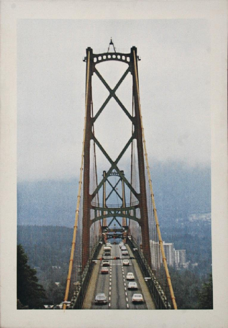 Larry Stark, Bridge, Photosilkscreen on Canvas