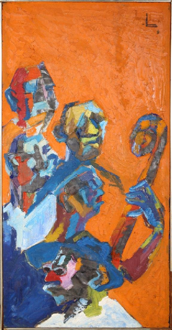 Rene Brochard, Faces de Jazz, New Orleans, Oil and