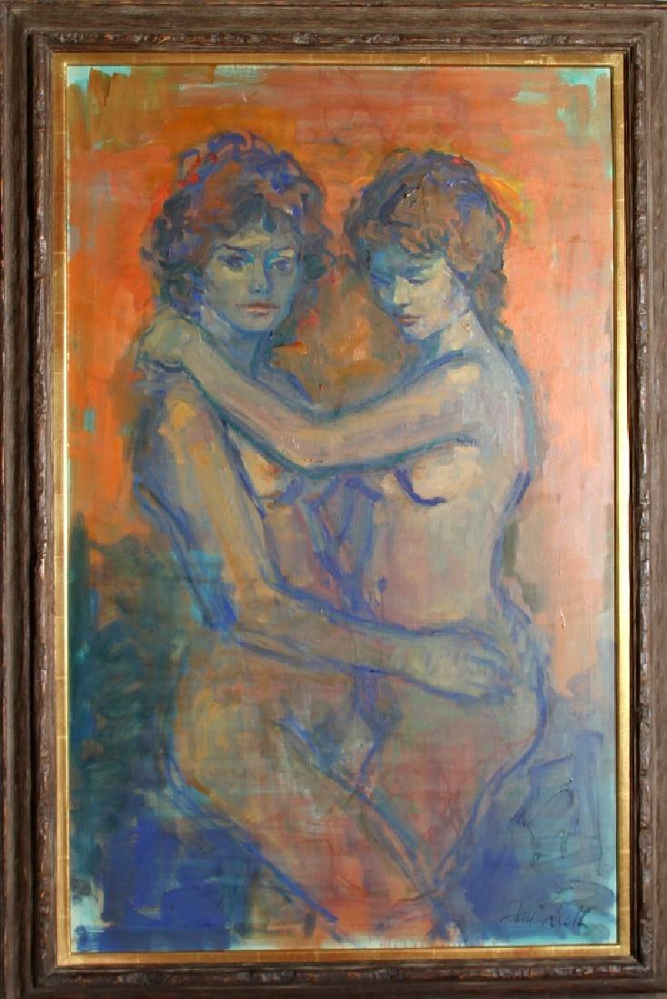 Jan De Ruth, Sisters of Rind, Oil Painting