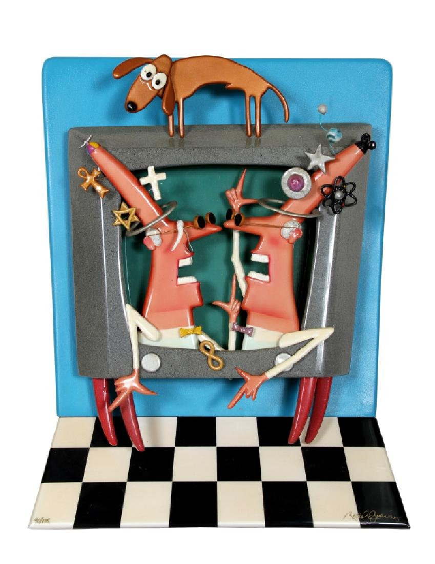Roark Gourley, Mad Scientists, Mixed Media 3-D
