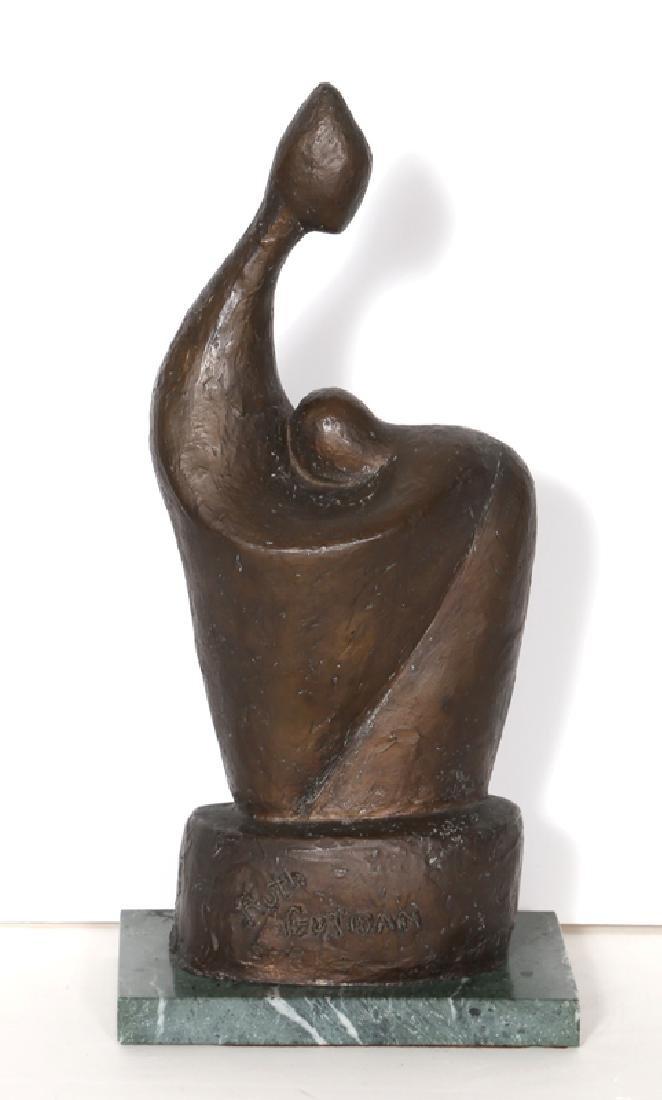 Ruth Gutman, Woman and Child, Bronze Sculpture