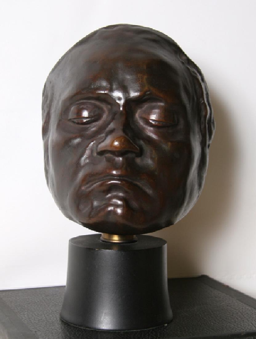 Beethoven Life Mask, Bronze Sculpture