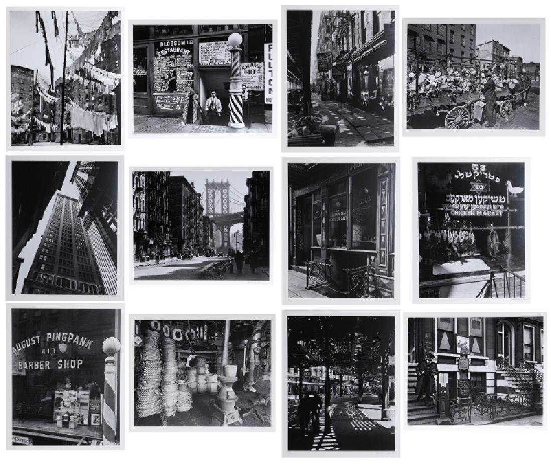 Berenice Abbott, New York IV, Portfolio of 12 Gelatin