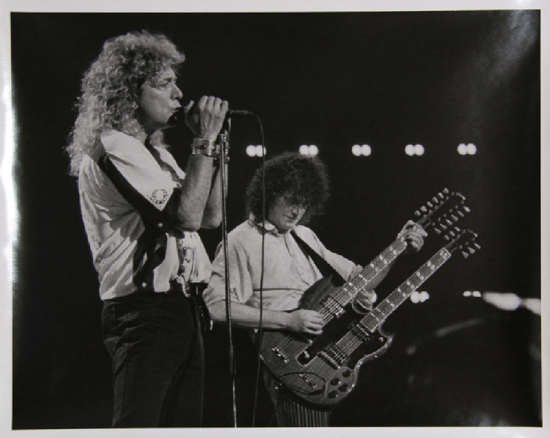 Rita Barros, Led Zepplin in New York: Robert Plant and