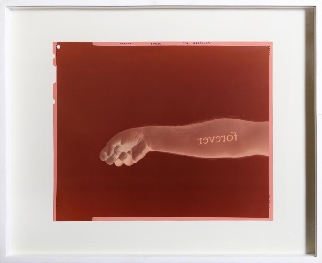 Douglas Gordon, Never, Never, C-Print Photograph