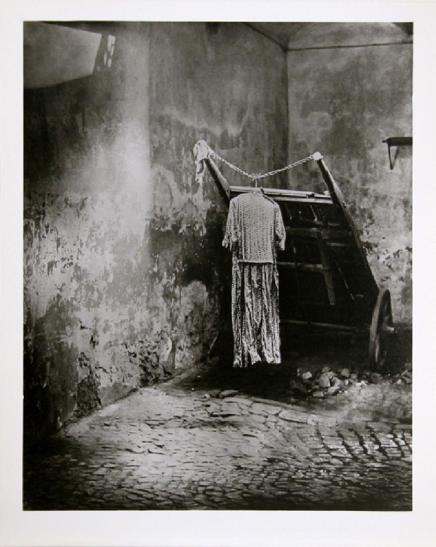 Miroslav Hak, Town Corner, Gelatin Silver Print