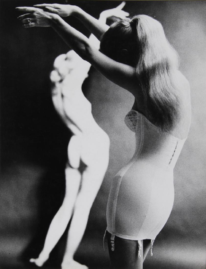 Gerald Hochman, Woman in Corsets, Gelatin Silver Print