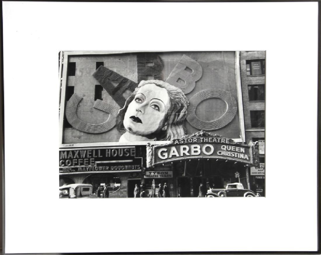 Robert Jansen, Garbo at the Astor Theater, Gelatin