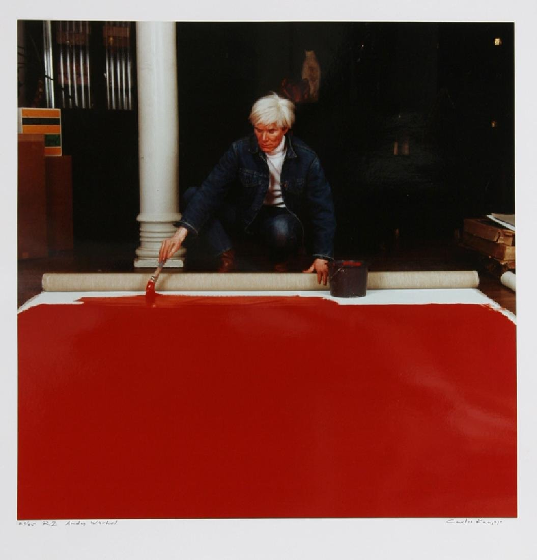 Curtis Knapp, Andy Warhol Red Series 2, Color