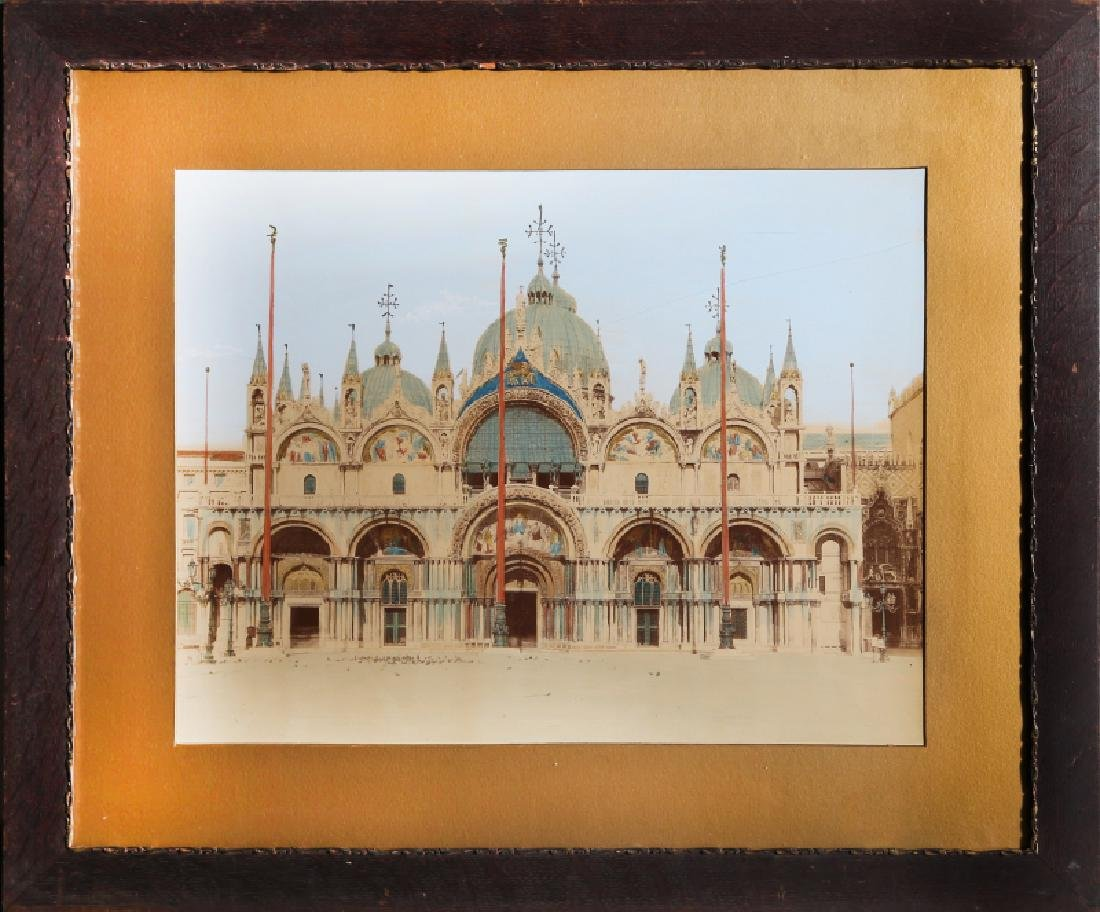 Photograph, Venice, Hand-Colored Photograph