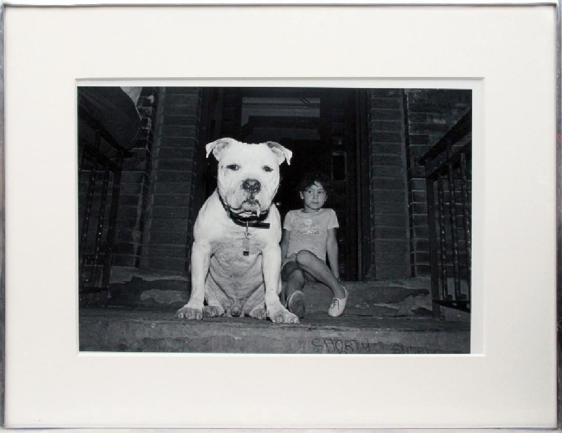 Robin Schwartz, Bozo and Jackie, Gelatin Silver Print