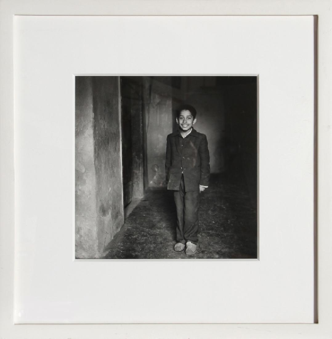 Ingrid Sischy, Romanian Orphan, Gelatin Silver Print