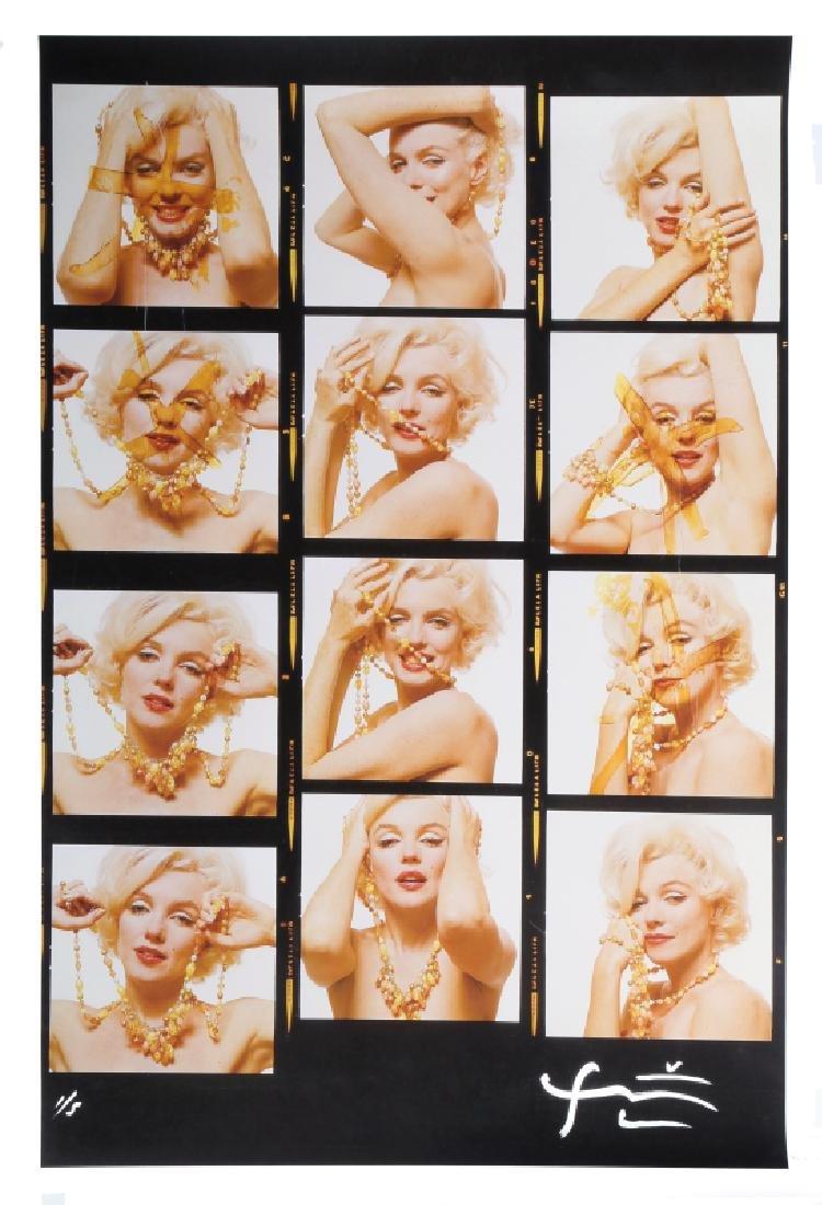 Bert Stern, Marilyn Monroe with Jewels (Contact Sheet)
