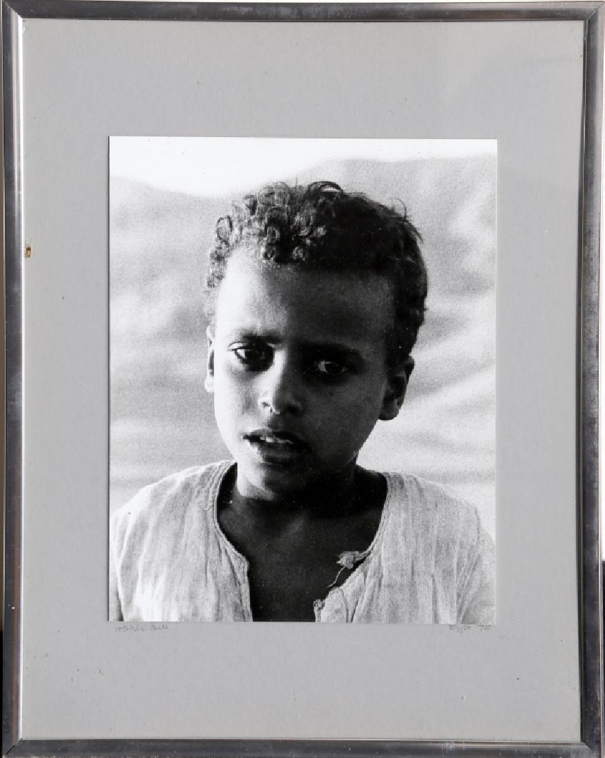 Portrait of a Boy, Gelatin Silver Print Photograph