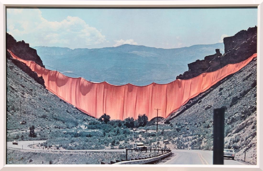 Wolfgang Volz, Christo's Valley Curtain, Rifle