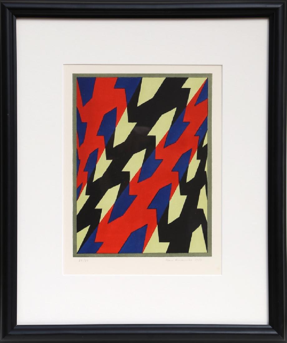 Hans Hinterreiter, Untitled, Silkscreen