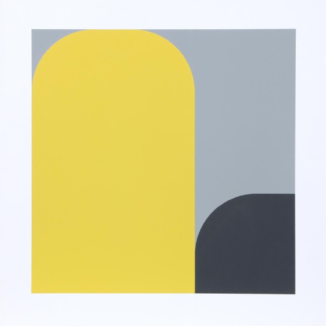 Kaspar Thomas Lenk, Untitled II, Screenprint