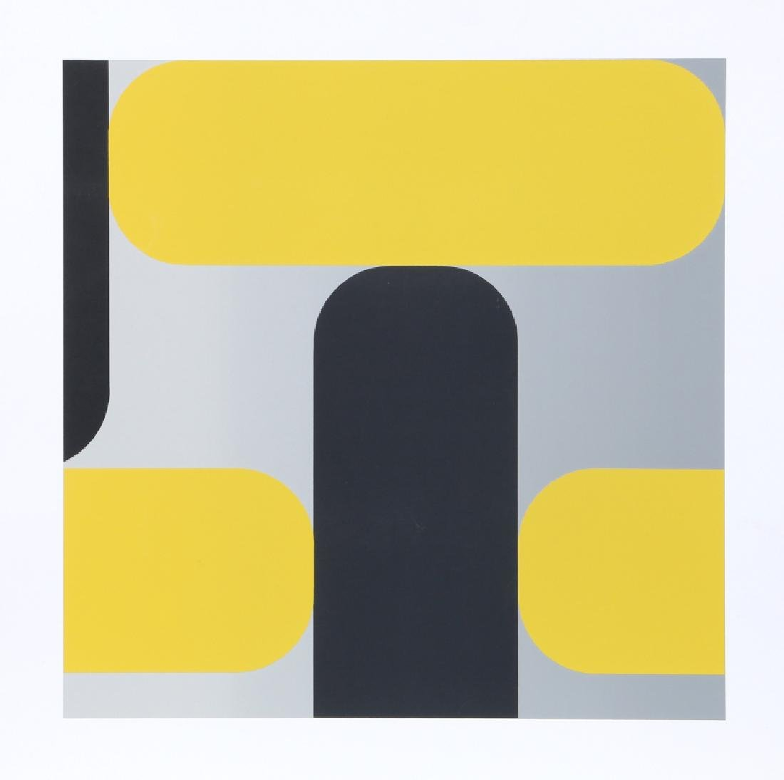 Kaspar Thomas Lenk, Untitled III, Screenprint