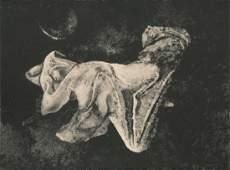 Francisco Zuniga, El Sueno, Lithograph