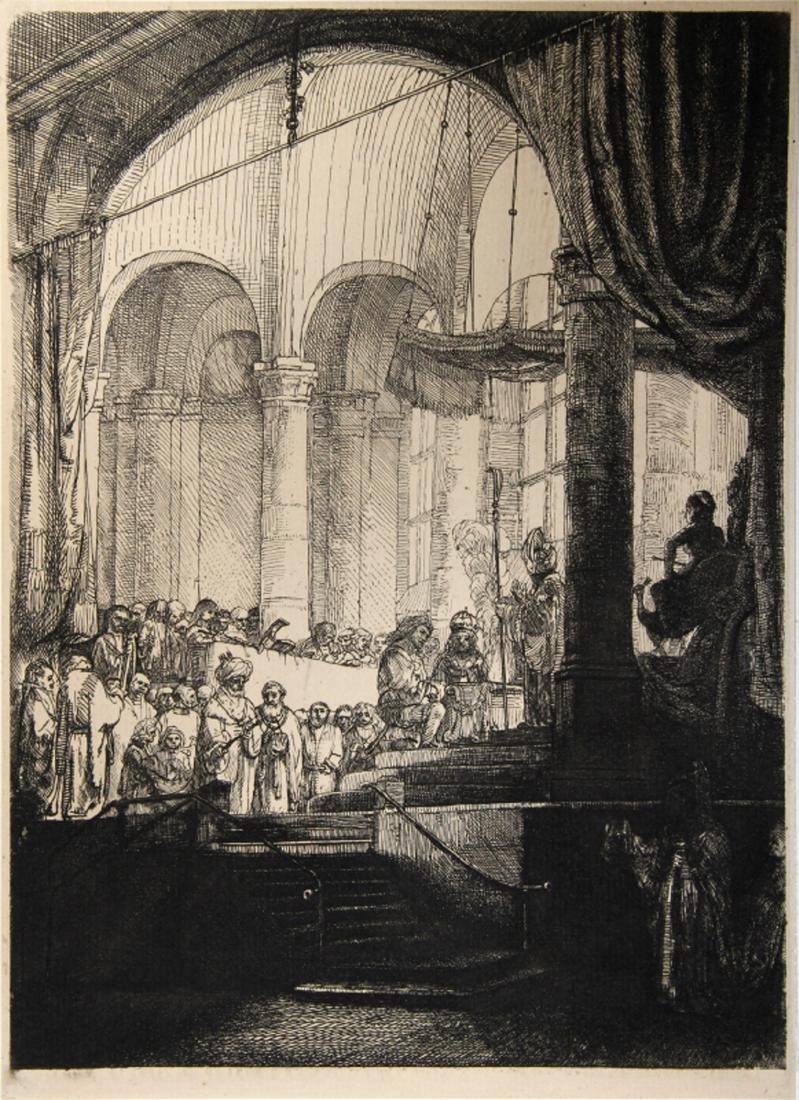 Rembrandt van Rijn, La Medee ou Le Mariage de Jason