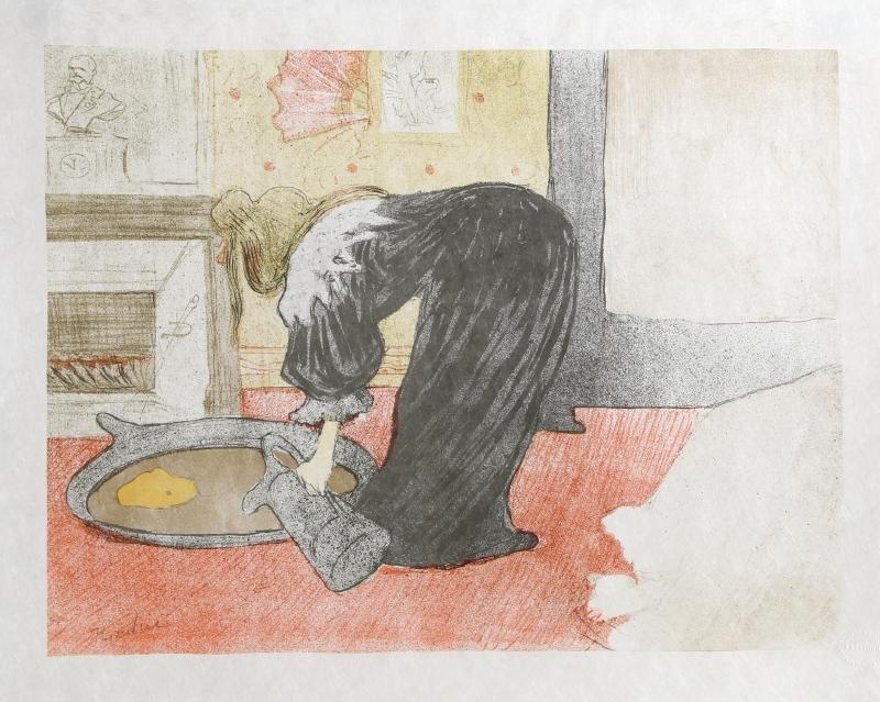 Henri de Toulouse-Lautrec, Femme au Tub-Le Tub,