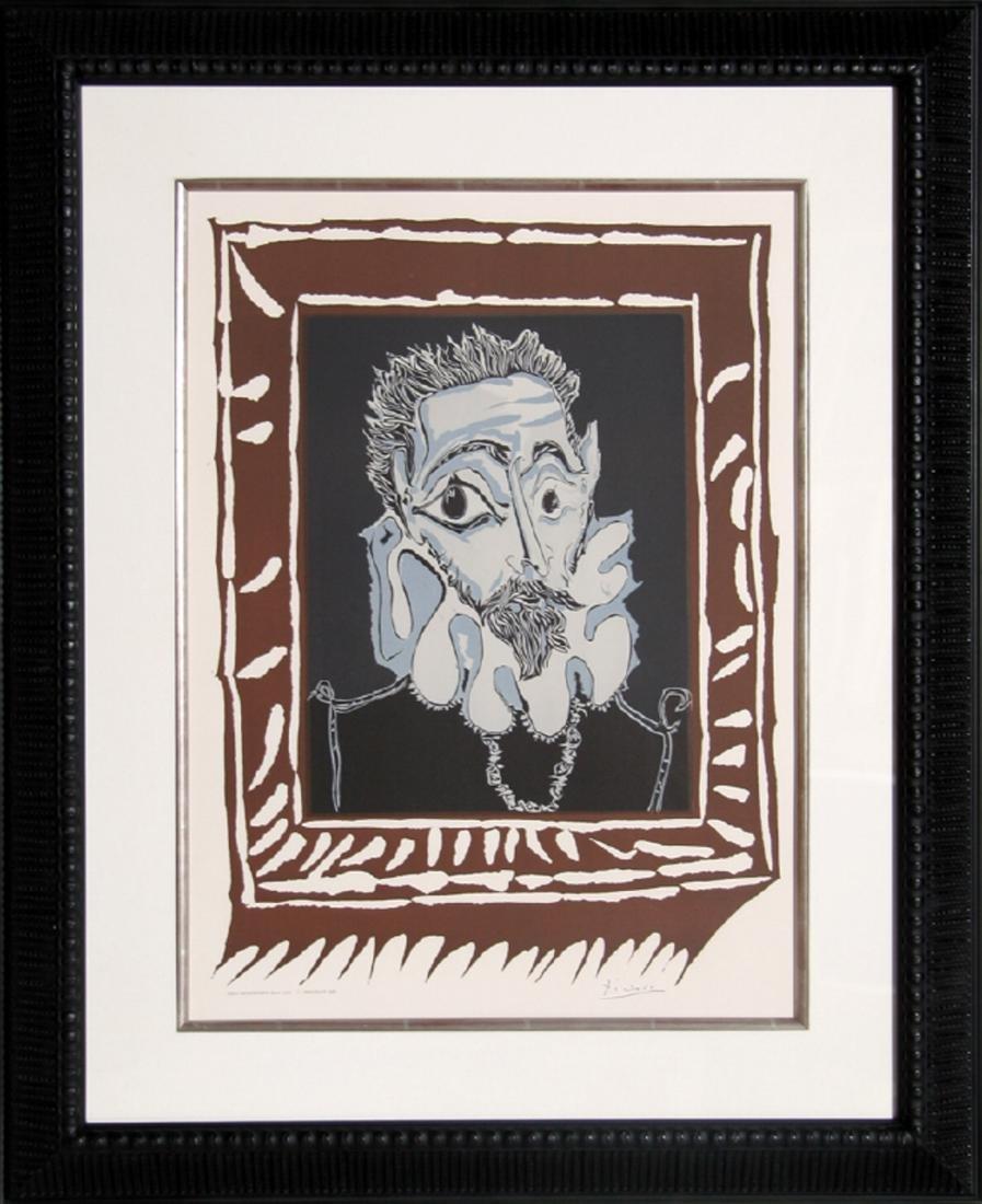 Pablo Picasso, L'Homme a la Fraise, Lithograph