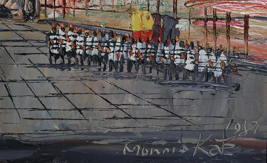 Morris Katz, Street, Acrylic Painting - 2