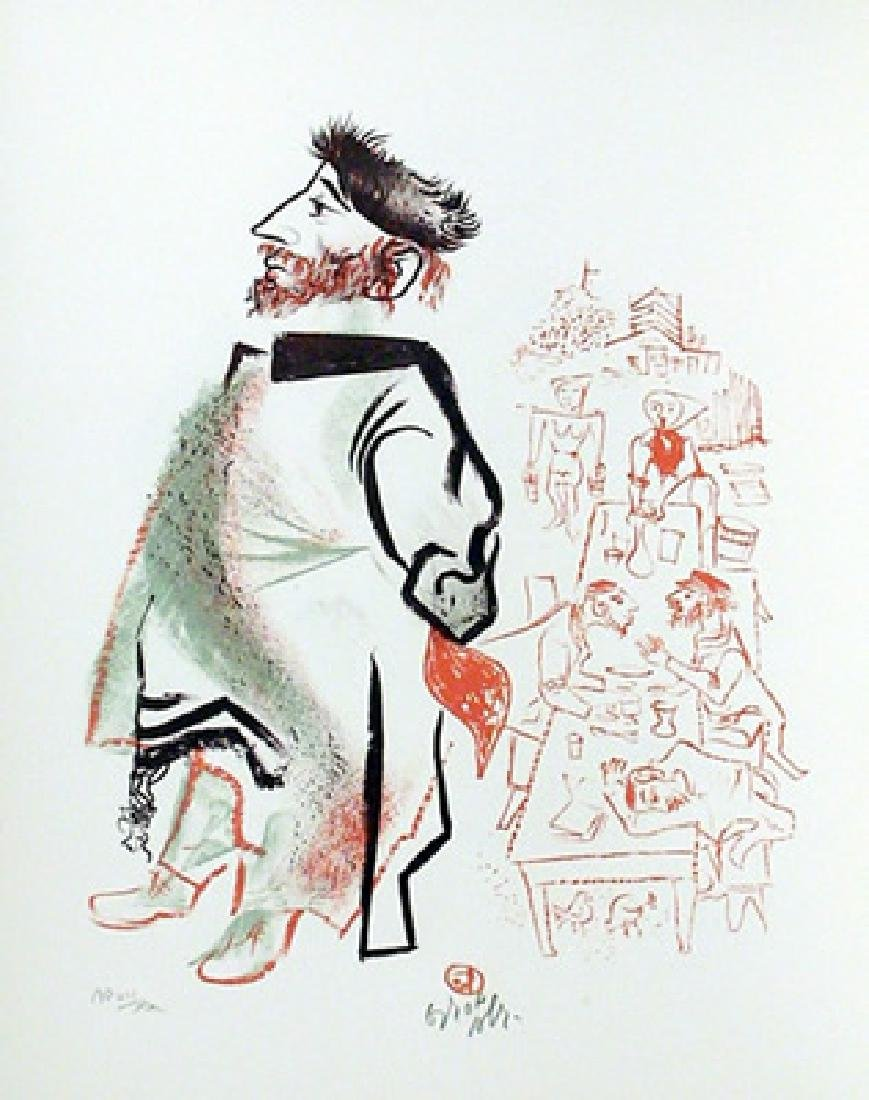 William Gropper, Lot of 2 Lithograph Prints from the - 2