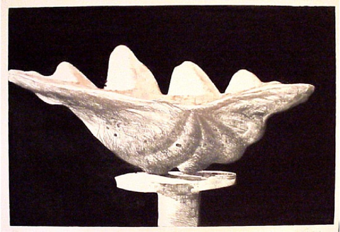 Julio Larraz, Giant Clam, Aquatint Etching