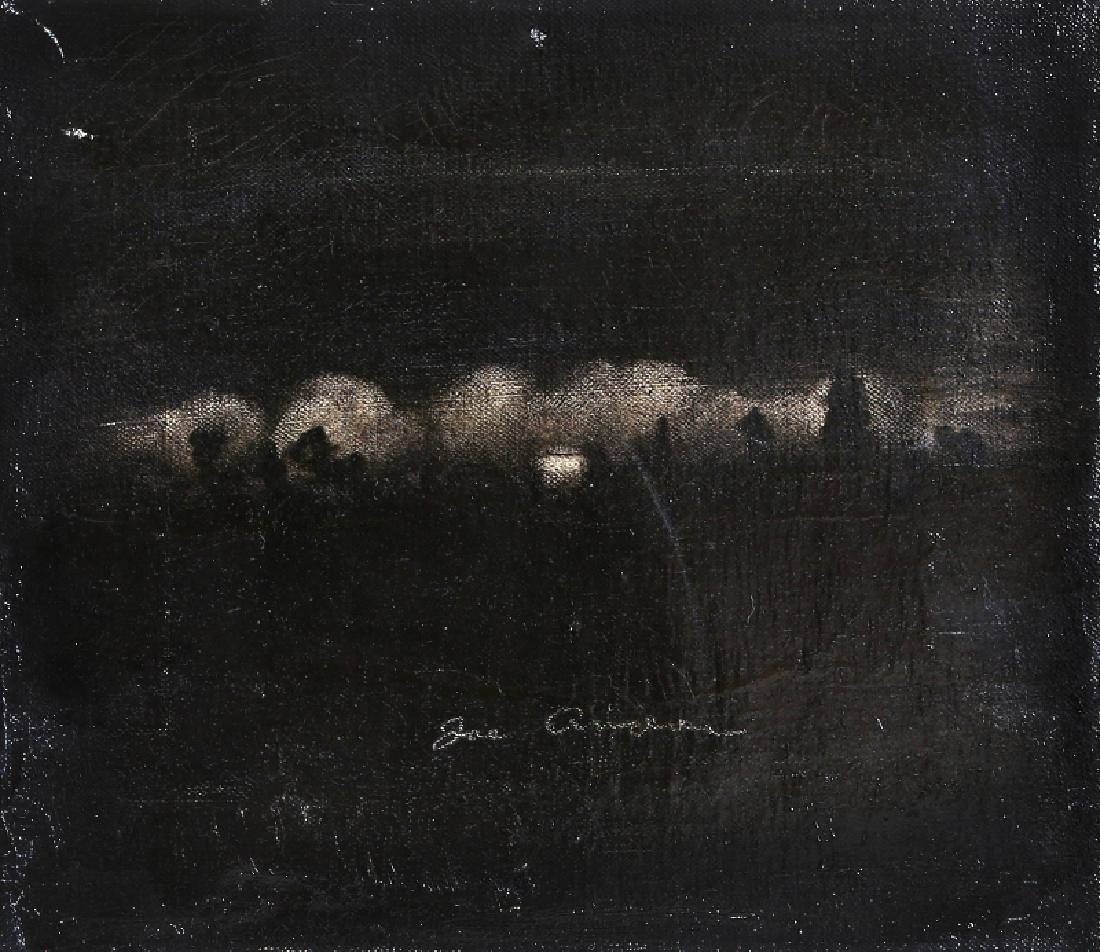 Joe Andoe, Mary's Well II, Oil Painting