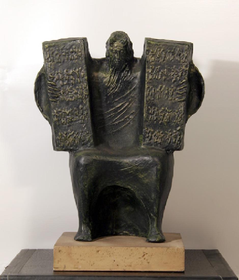 Giuseppe Macri, Moses and the Ten Commandments, Resin