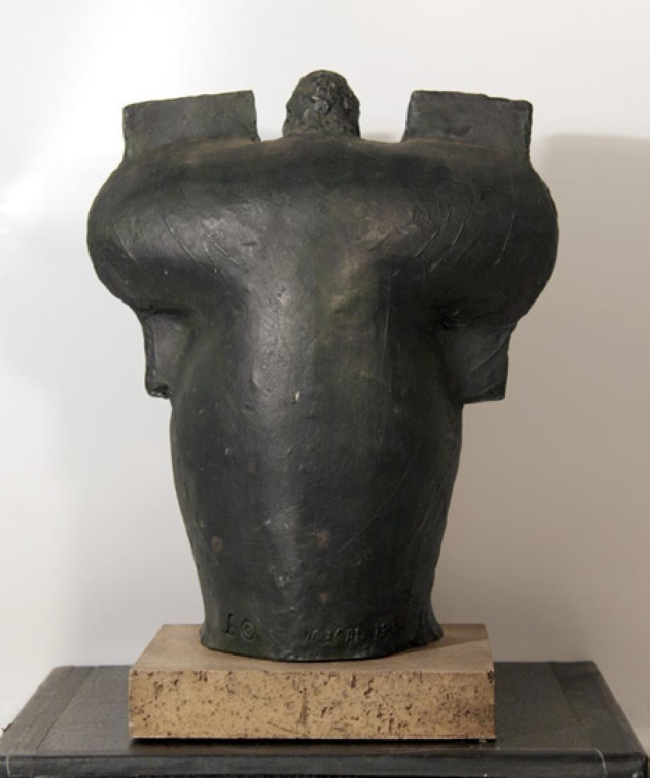 Giuseppe Macri, Moses and the Ten Commandments, Resin - 2