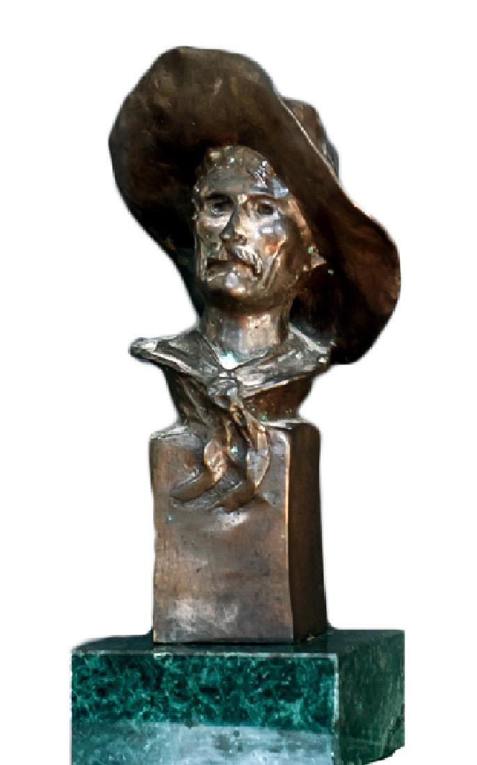 Frederic Remington, Sergeant, Bronze Sculpture
