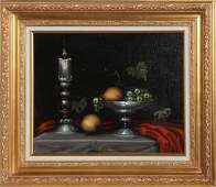 Paul Pinard, Still Life, Oil Painting