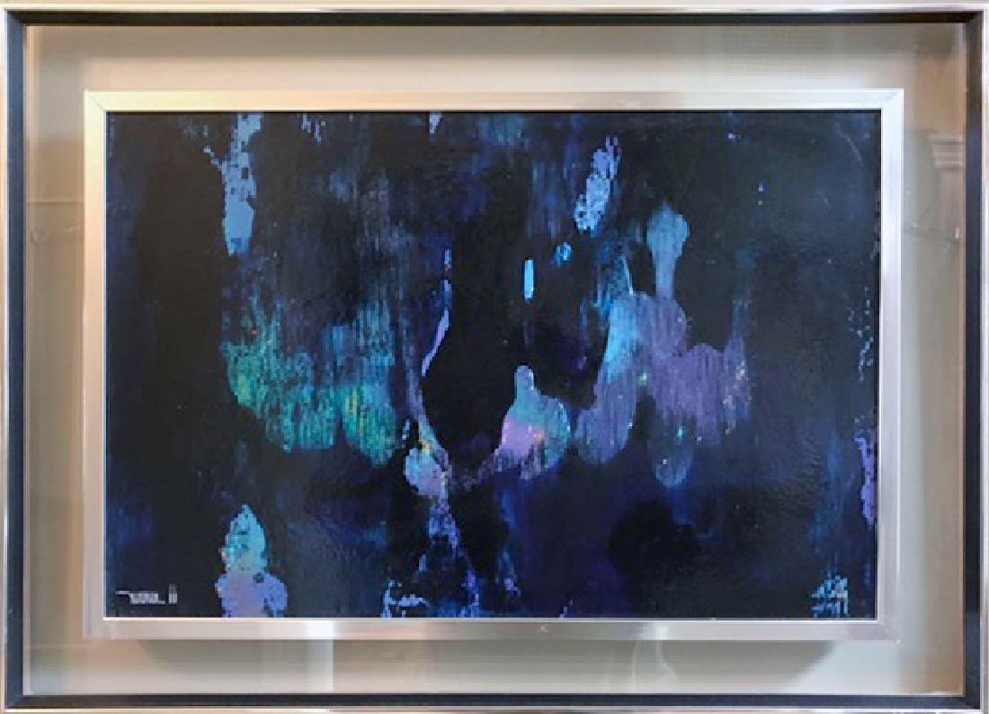 Leonardo Nierman, Ships in Storm Jungle, Oil Painting