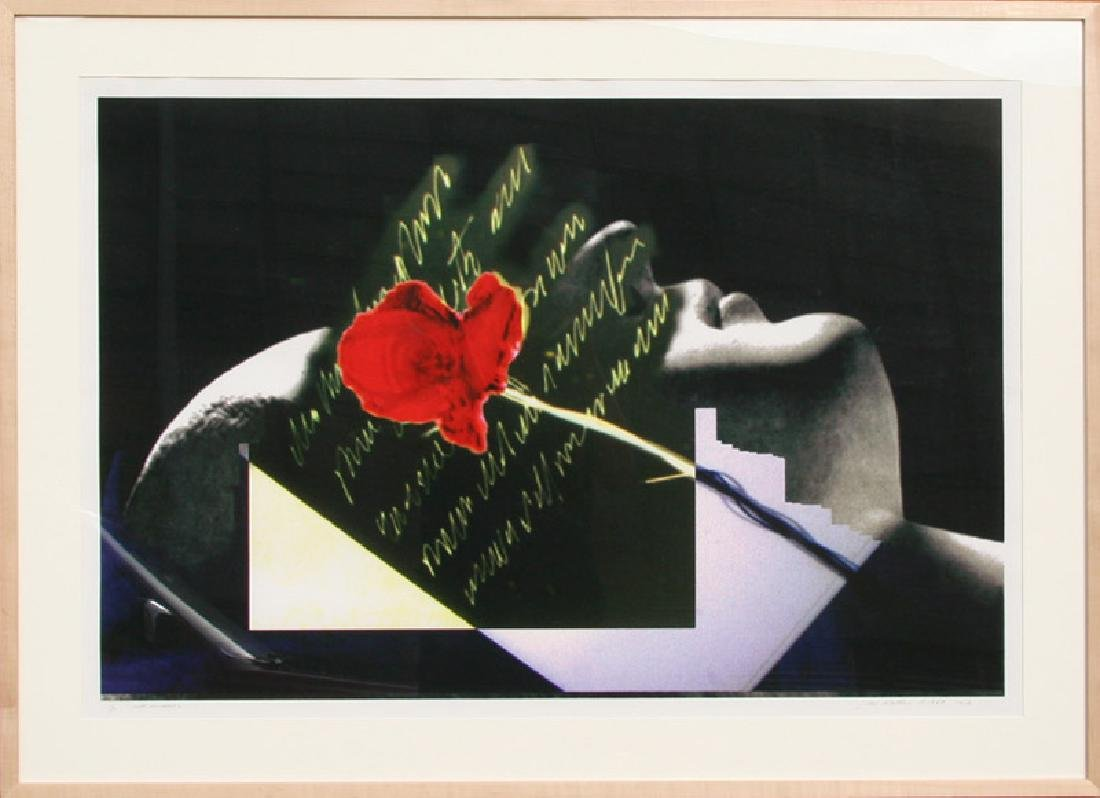 John Waters, Visual Chemistry - Sleeping Rose, Digital