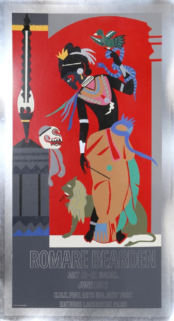 Romare Bearden, Odysseus: Circe (Exhibition), Serigraph