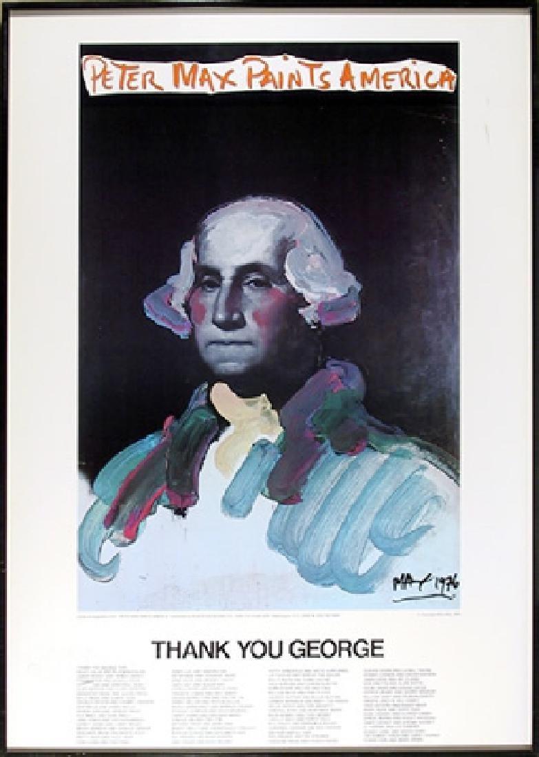 Peter Max, Peter Max Painting America (George