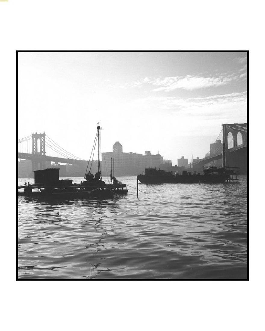 Robert Gambee, East River Morning, Photograph