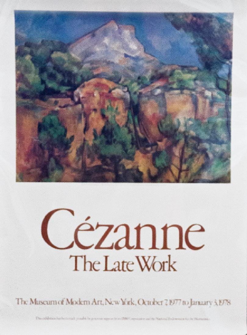 Paul Cezanne, The Late Work, Poster